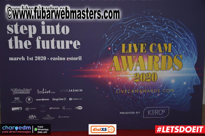 Live Cam Awards Red Carpet