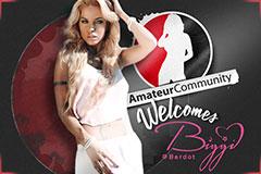 Famous Cam Model & Singer Biggi Bardot Joins Amateurcommunity.com