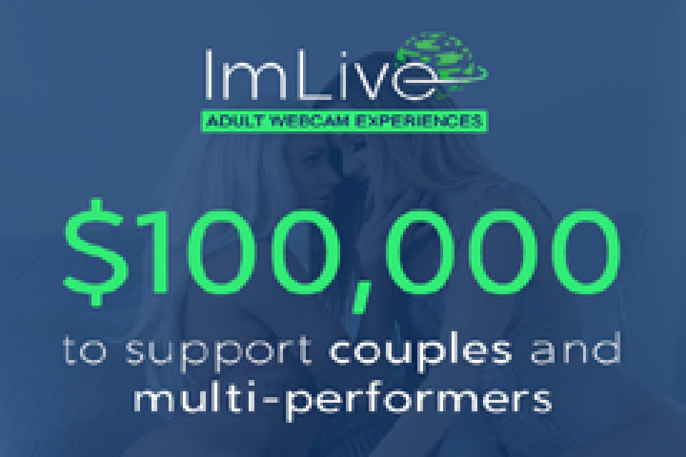 ImLive supports couples and multi-performers with $100,000!